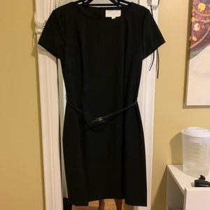 Black Hugo Boss Office Dress